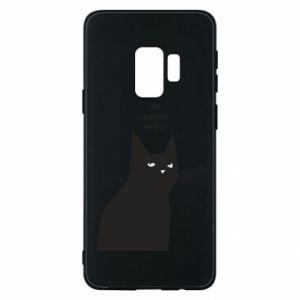 Phone case for Samsung S9 Freakin' meowt