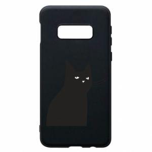 Phone case for Samsung S10e Freakin' meowt