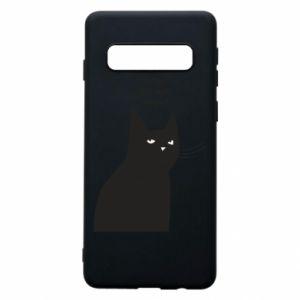 Phone case for Samsung S10 Freakin' meowt