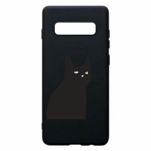 Phone case for Samsung S10+ Freakin' meowt