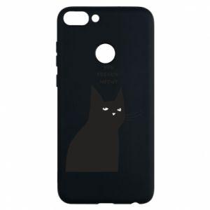 Phone case for Huawei P Smart Freakin' meowt