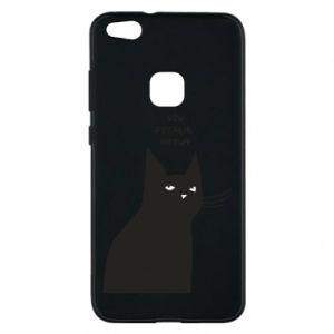 Phone case for Huawei P10 Lite Freakin' meowt