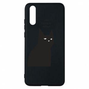 Phone case for Huawei P20 Freakin' meowt
