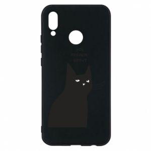 Phone case for Huawei P20 Lite Freakin' meowt