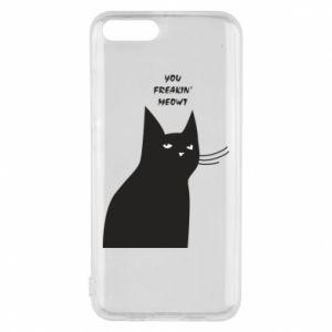 Phone case for Xiaomi Mi6 Freakin' meowt