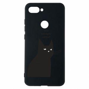 Phone case for Xiaomi Mi8 Lite Freakin' meowt