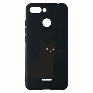 Phone case for Xiaomi Redmi 6 Freakin' meowt