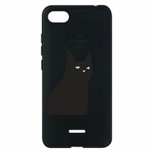 Phone case for Xiaomi Redmi 6A Freakin' meowt