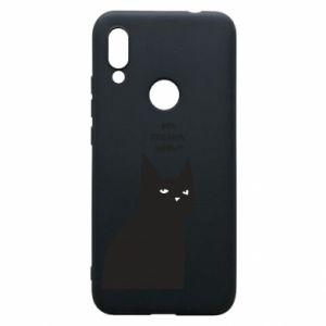 Phone case for Xiaomi Redmi 7 Freakin' meowt