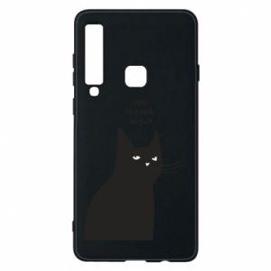 Phone case for Samsung A9 2018 Freakin' meowt