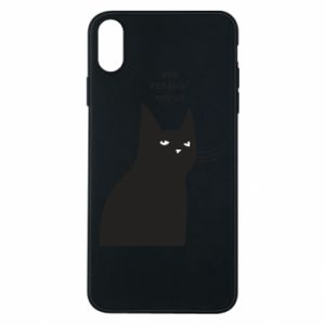 Phone case for iPhone Xs Max Freakin' meowt