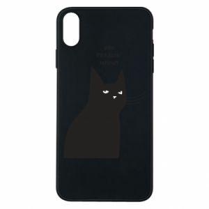 Etui na iPhone Xs Max Freakin' meowt