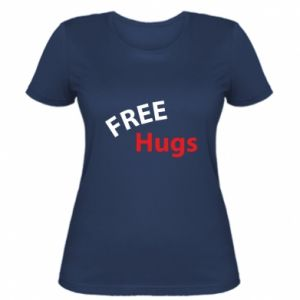 Women's t-shirt Free Hugs