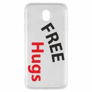 Etui na Samsung J7 2017 Free Hugs