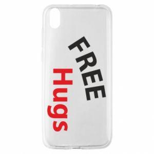Etui na Huawei Y5 2019 Free Hugs