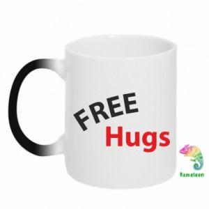 Kubek-magiczny Free Hugs
