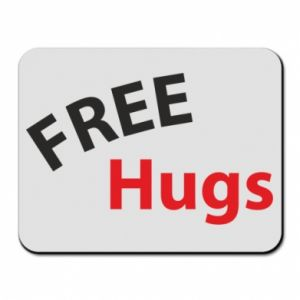 Mouse pad Free Hugs