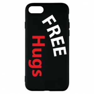 Phone case for iPhone 8 Free Hugs