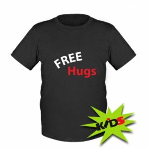 Kids T-shirt Free Hugs