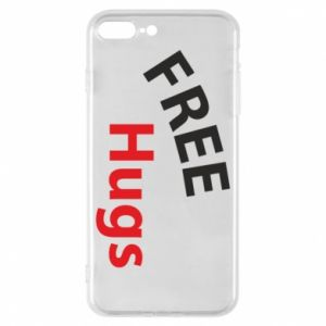 Phone case for iPhone 8 Plus Free Hugs