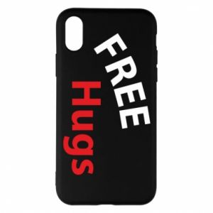 Phone case for iPhone X/Xs Free Hugs