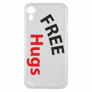 Phone case for iPhone XR Free Hugs
