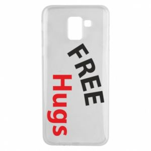 Phone case for Samsung J6 Free Hugs