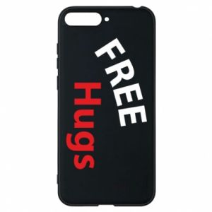 Phone case for Huawei Y6 2018 Free Hugs