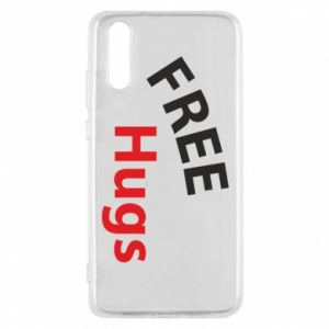 Phone case for Huawei P20 Free Hugs