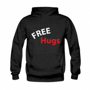Bluza z kapturem dziecięca Free Hugs