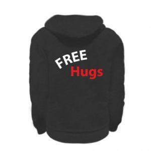 Bluza na zamek dziecięca Free Hugs