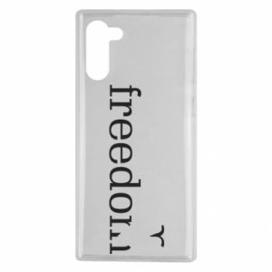 Samsung Note 10 Case Freedom