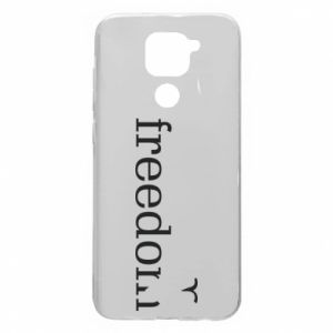Xiaomi Redmi Note 9 / Redmi 10X case % print% Freedom