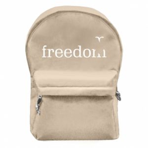 Backpack with front pocket Freedom