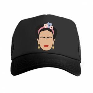 Trucker hat Frida Kahlo - PrintSalon