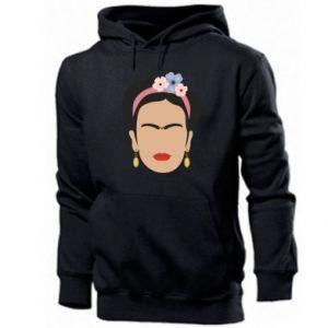 Men's hoodie Frida Kahlo - PrintSalon