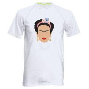 Men's sports t-shirt Frida Kahlo - PrintSalon