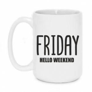 Kubek 450ml Friday. Hello weekend