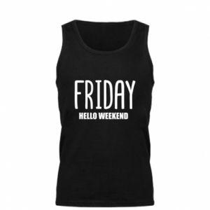 Męska koszulka Friday. Hello weekend