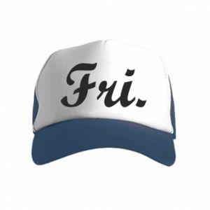 Czapka trucker dziecięca Friday