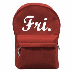 Plecak z przednią kieszenią Friday