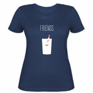 Koszulka damska Friend milk