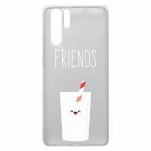 Etui na Huawei P30 Pro Friend milk