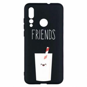 Etui na Huawei Nova 4 Friend milk