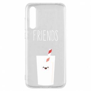 Etui na Huawei P20 Pro Friend milk