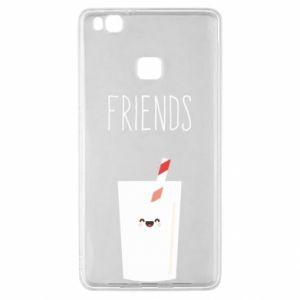 Etui na Huawei P9 Lite Friend milk