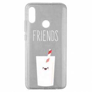 Etui na Huawei Honor 10 Lite Friend milk