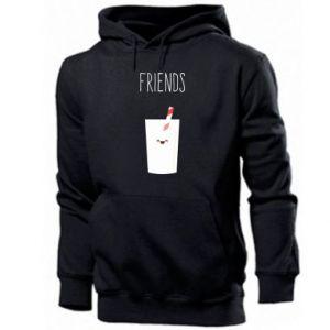 Bluza z kapturem męska Friend milk