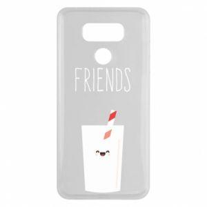 Etui na LG G6 Friend milk