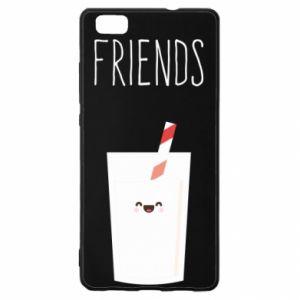 Etui na Huawei P 8 Lite Friend milk